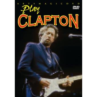 Eric Clapton - Play Clapton [DVD] USA import