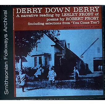 Lesley Frost - Derry Down Derry: A Narrative Reading by Lesley Fr [CD] USA import