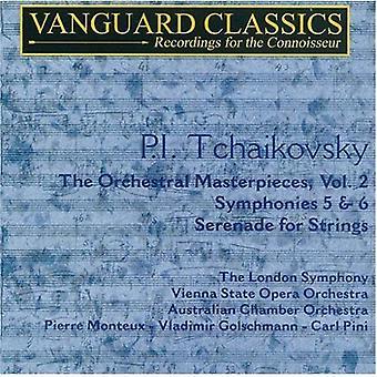 P.I. Tchaikovsky - P.I. Tchaikovsky: The orkestrale mesterværker, Vol. 2 [CD] USA import