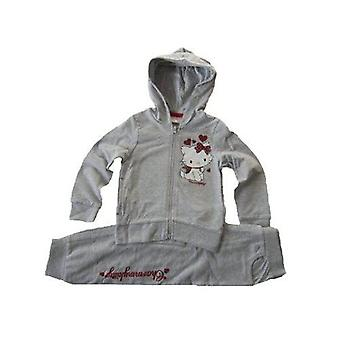 Charmmy - Hello Kitty Jogging Set Tracksuit Girl's Trouser and Hoodie 2-piece Set