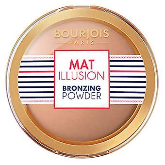 Bourjois Paris Mat Illusion Bronzing Powder 21 Hale Clair Fair (Make-up , Face , Bases)