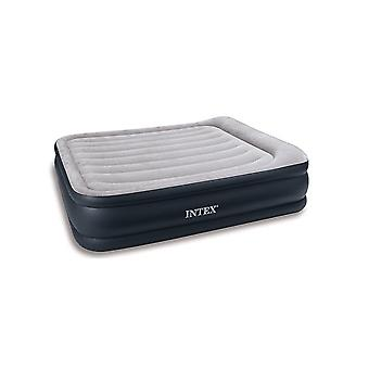 Intex Queen Size Deluxe Pillow Rest Camping Airbed