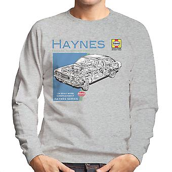 Haynes Besitzer Workshop manuelle 0295 MK2 Ford Cortina Herren Sweatshirt