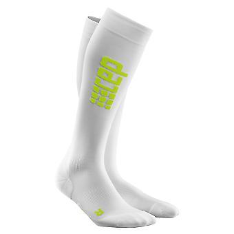 CEP Herre kompression beton køre ultralet sokker - hvid grøn