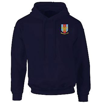 RMR Merseyside Crest geborduurd Logo - officiële Royal Marines - Hoodie