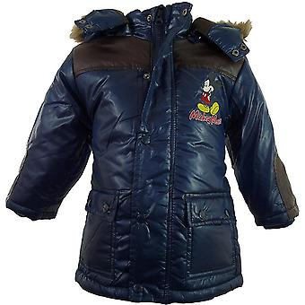 Boys Disney Mickey Mouse Baby Winter Hooded Parka / Jacket