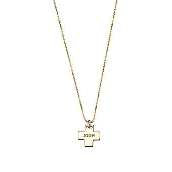 Joop women's chain necklace silver gold affect JPNL90712B420