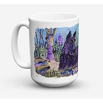 Scottish Terrier Dishwasher Safe Microwavable Ceramic Coffee Mug 15 ounce