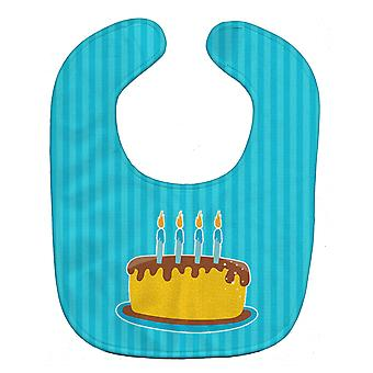 Carolines Treasures  BB8939BIB Birthday Cake Baby Bib