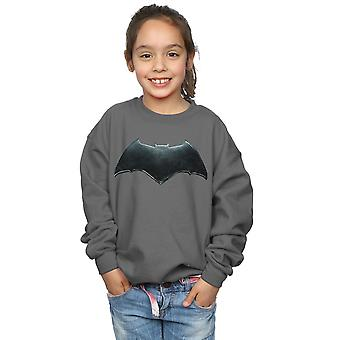 DC Comics flickor Justice League film Batman Emblem Sweatshirt