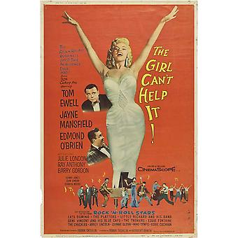 The Girl Cant Help It Movie Poster (11 x 17)