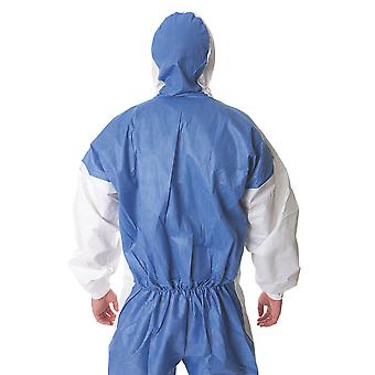 4535W3XL 3M 5/6 XXX/Large Coverall Blue White Type