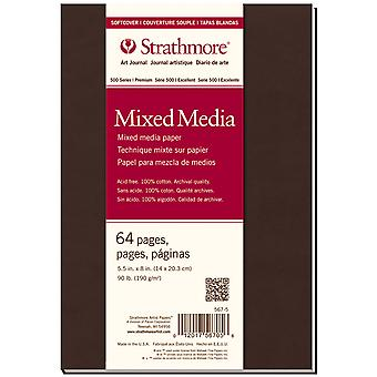 Strathmore Softcover Mixed Media Journal 5.5