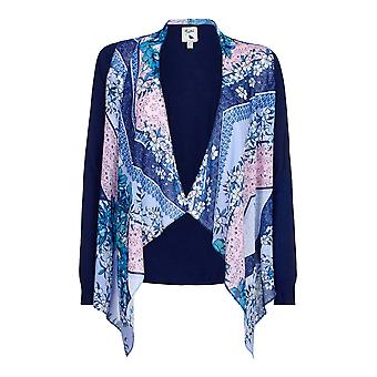 Yumi Womens/Ladies Waterfall Floral Cardigan