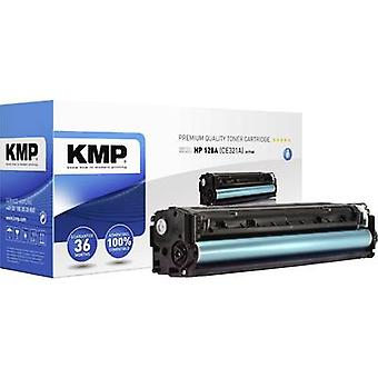 KMP Toner cartridge replaced HP 128A, CE321A Compatible Cyan