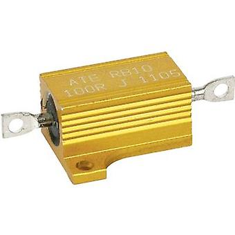 High power resistor 0.47 Ω Axial lead 12 W 5 % ATE Electronics RB10/1-0,47R-J 1 pc(s)