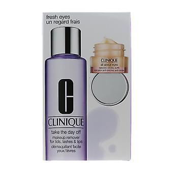 Clinique Fresh Eyes 2 Piece Gift Set New In Box