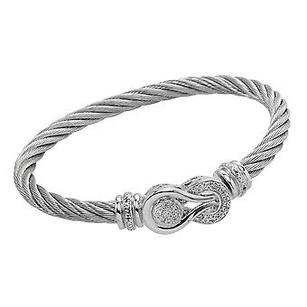 Burgmeister Bangle with Cubic Zirconia JBM3034-521