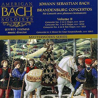 J.S. Bach - Bach: Brandenburg Concertos, importazione USA Vol. 2 [CD]