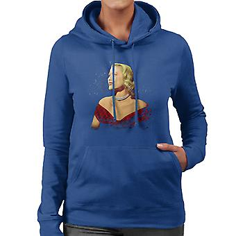 Grace Kelly Interview With Donald Zec Cannes Film Festival 1955 Women's Hooded Sweatshirt