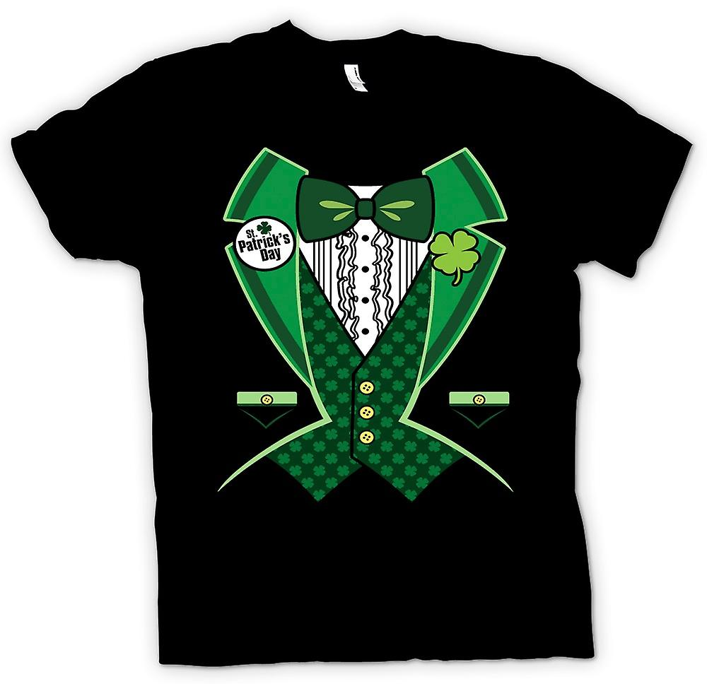 Womens T-shirt - St Patricks Day - grön smoking