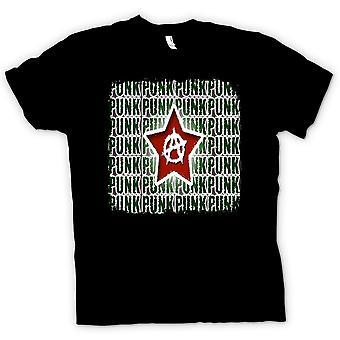 Womens T-shirt - Punk Rock Anarchy - Design