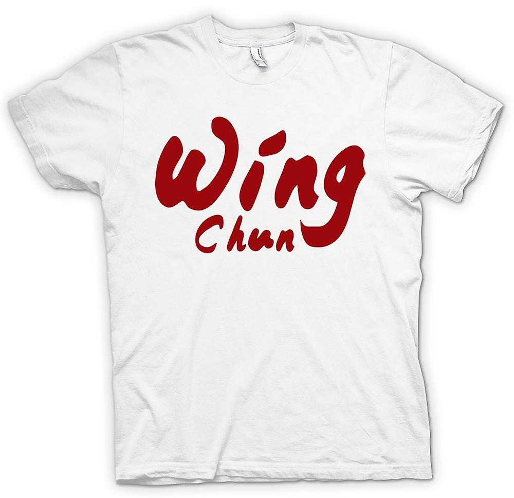 Femmes T-shirt - Wing Chun - Martial Art - Slogan