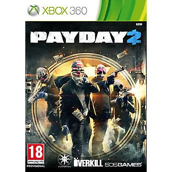 Payday 2 (Xbox 360) - Factory Sealed