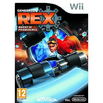 Generator Rex Agent of Providence (Wii) - Factory Sealed