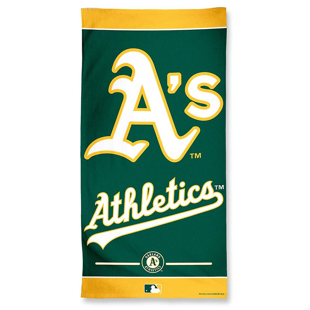 150x75cm de toalha de praia Wincraft MLB Oakland Athletics