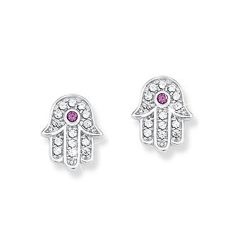 s.Oliver jewel children and teens earrings silver Hamsa 2012454