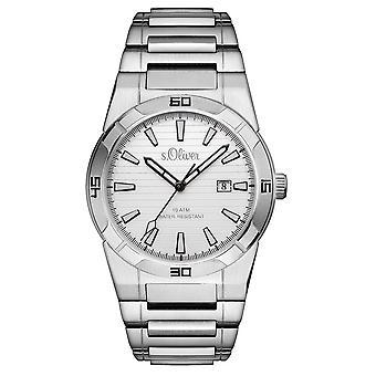 s.Oliver men's wrist watch analog quartz SO-15157-MQR