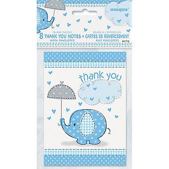 Unique Party Umbrellaphants Thank You Notes