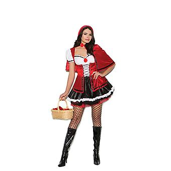 Elegant Moments Womens Storybook Red Riding Hood Halloween Roleplay Costume
