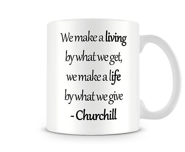 Hacer una taza impresa de vida
