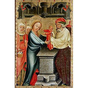 The Presentation of Christ in the Temple,.. - Postcard (Pack of 8) - Art247 Highest Quality