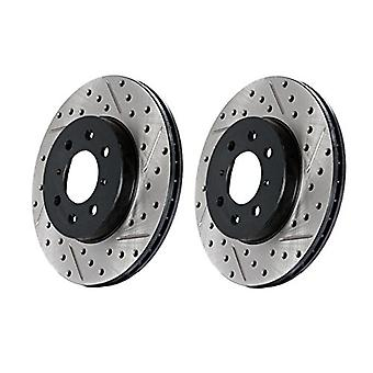 StopTech 127.35130 Stop Tech Brake Rotors - SportStop Drilled & Slotted