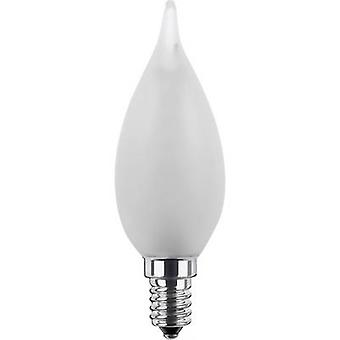 Segula LED E14 Candle angular 2.7 W = 15 W Warm white (Ø x L) 35 mm x 110 mm EEC: A+ dimmable, Filament 1 pc(s)