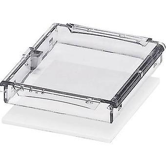 DIN rail casing (lid) 45 x 53.6 x 8 Polycarbonate (PC) Transparent Phoenix Contact BC 53,6 DKL S TRANS 1 pc(s)