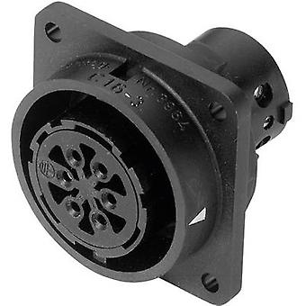 Amphenol C016 10G014 000 2 Socket C16-3 Nominal current (details): 4 x 6 A, 11 x 12 A