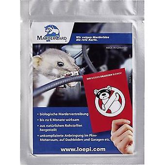 Aromatic animal repeller 45316 Löpi MarderCard