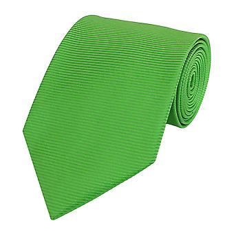 Cravatta cravatta cravatta cravatta verde 8cm uni Fabio Farini