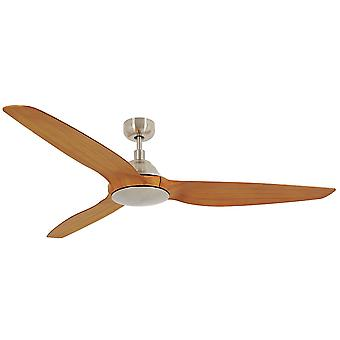 Energy-saving DC ceiling fan Airfusion Type A in Chrome