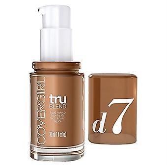 Covergirl TruBlend Liquid Makeup D7 Soft Sable 1oz / 30ml