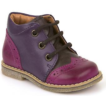 Froddo meninas G2130150-1 laço botas roxo rosa