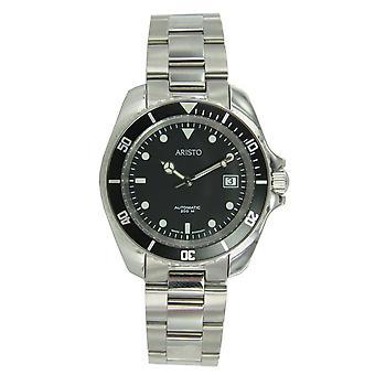 Aristo Unisex Watch wrist watch dive watch automatic stainless steel 4H108TU