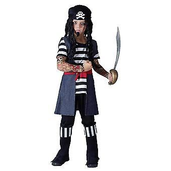 Bnov Tattoo piraat jongen kostuum