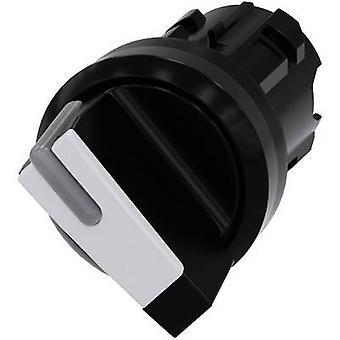 Bouton avant anneau noir (PVC), blanc 1 x 90 ° Siemens SIRIUS ACT 3SU1002-2BF60-0AA0 1 PC (s)