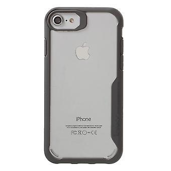 IPAKY iPhone 8/7 TPU Hybrid Shell-grå