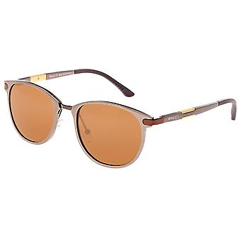 Aluminium Orion race Polarized lunettes de soleil - marron/marron